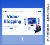 video blogging  landing page....