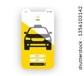 yellow taxi booking mobile app...