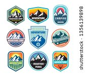 set of adventure outdoor... | Shutterstock .eps vector #1356139898