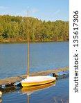danube delta in austria | Shutterstock . vector #135617306