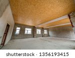 unfinished apartment or house... | Shutterstock . vector #1356193415