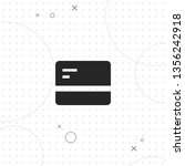 credit card  vector best flat... | Shutterstock .eps vector #1356242918