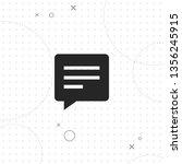 message  vector best flat icon... | Shutterstock .eps vector #1356245915