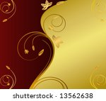 abstract floral background | Shutterstock .eps vector #13562638