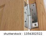 Door Hinge Metal Object Close...