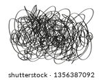 chaos on isolated background....   Shutterstock .eps vector #1356387092