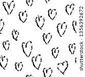 abstract seamless heart pattern.... | Shutterstock .eps vector #1356392672
