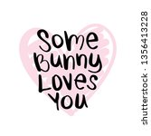 easter quote concept  some... | Shutterstock .eps vector #1356413228