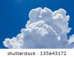 Beautiful White Cloud With The...