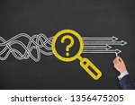 research solution concepts on... | Shutterstock . vector #1356475205