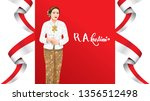 kartini day  r a kartini the... | Shutterstock .eps vector #1356512498