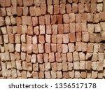 bricks background image | Shutterstock . vector #1356517178