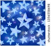 star blue background  sky... | Shutterstock .eps vector #1356558698