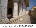agra fort  agra  uttar pradesh  ... | Shutterstock . vector #1356583688