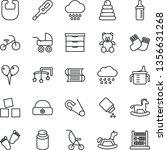 thin line vector icon set  ...   Shutterstock .eps vector #1356631268