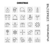 christmas line icon for web ...