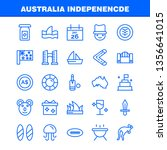 australia independence line...