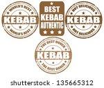 set of grunge rubber stamps... | Shutterstock .eps vector #135665312