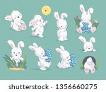 vector collection of hand drawn ... | Shutterstock .eps vector #1356660275