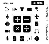 multimedia  solid glyph icons...