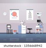 modern ophthalmologist office... | Shutterstock .eps vector #1356668942
