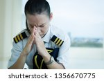 Stressed Out Female Pilot...