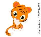 cute illustration of little... | Shutterstock .eps vector #1356794672