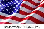 american flag   Shutterstock . vector #135683498