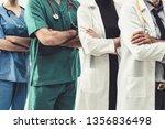 healthcare people group.... | Shutterstock . vector #1356836498