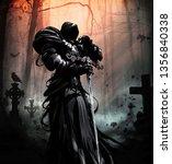 A Black Spirit In Plate Armor...