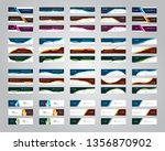 vector abstract banner design... | Shutterstock .eps vector #1356870902