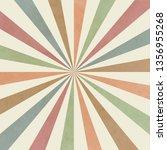 sunburst old background  vector ... | Shutterstock .eps vector #1356955268