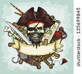Pirate Skull Logo Design ...