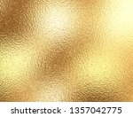 gold foil background with light ... | Shutterstock . vector #1357042775