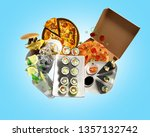 concept of product categories... | Shutterstock . vector #1357132742