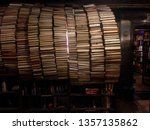 Tunnel Of Books In Library