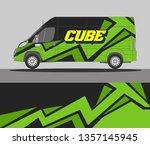 abstract van wrap design. wrap  ...   Shutterstock .eps vector #1357145945