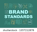 brand standards word concepts...