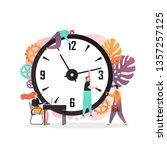 vector illustration of big... | Shutterstock .eps vector #1357257125