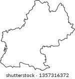 midi pyrenees. map region of... | Shutterstock .eps vector #1357316372