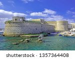 gallipoli  town in southern... | Shutterstock . vector #1357364408