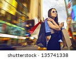 Beautiful Woman Goes Shopping...