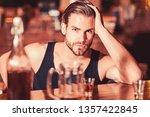 enjoy the drinks  but not too... | Shutterstock . vector #1357422845