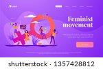 concept of feminism  girl power ...