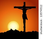 Jesus Christ Crucified In...