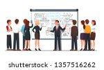 business trainer teacher... | Shutterstock .eps vector #1357516262