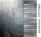 metal background   Shutterstock . vector #135751802