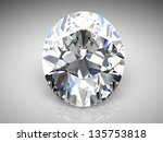 diamond . high quality 3d... | Shutterstock . vector #135753818