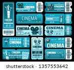 night film festival or movie... | Shutterstock .eps vector #1357553642