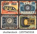 car auto service station ... | Shutterstock .eps vector #1357565318